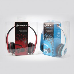 Amplify headphones