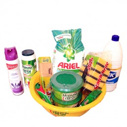 House Cleaning Hamper