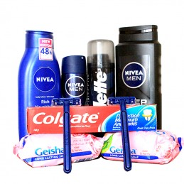 Men Body Care Hamper