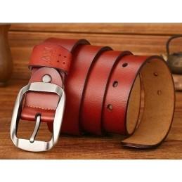 Leather Belt MJ1 Brown