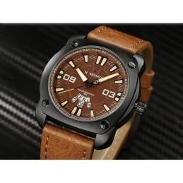 Naviforce Quartz Leather...