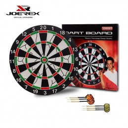 Joerex Dartboard with six...