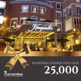 Dinner Voucher Kempinski...
