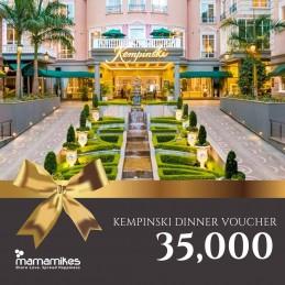 Dinner Voucher Kempinski Gold