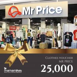 Clothes Voucher Mr. Price-Gold