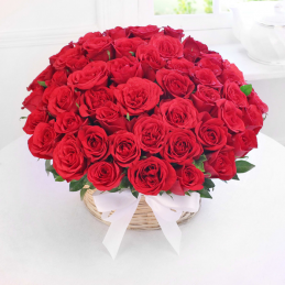 Full Rose Basket