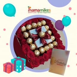 Roses and Chocolate Hamper
