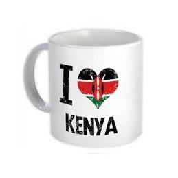 I Love Kenya Mug
