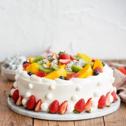Happy Anniversary Fruit Cake