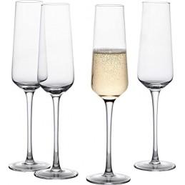 Set of Champagne Glasses
